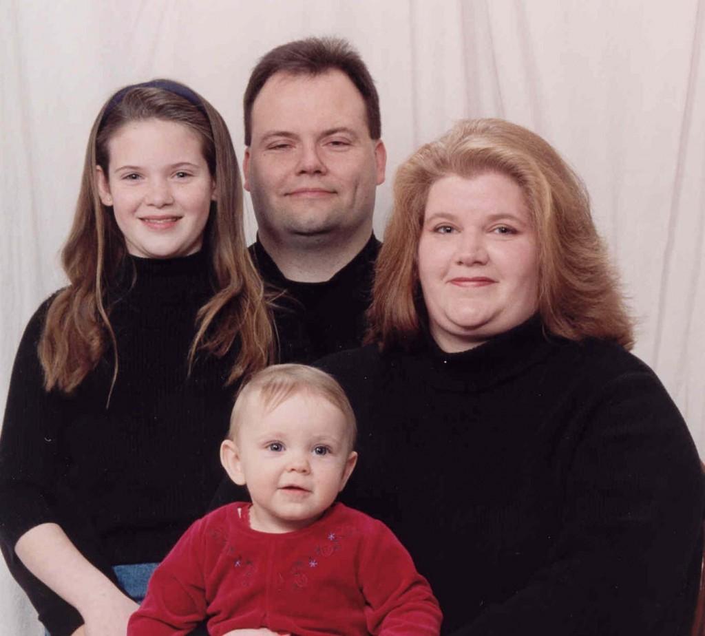 Skamarakas Family portrait December 2002
