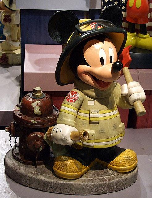 Mickey Mouse firefighter daylight savings time 2010