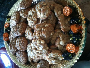 Cookies made with Monk Fruit in the Raw