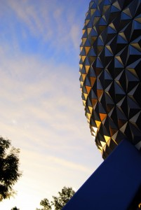 EPCOT's famous Geosphere