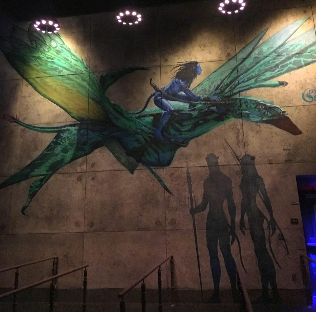 Na'vi wall art